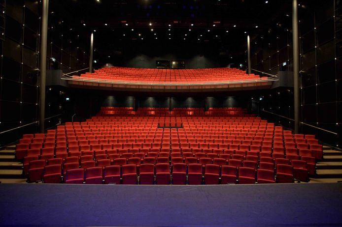 De komende weken blijven de zalen van het Stadstheater leeg als gevolg van de nieuwe coronamaatregelen.