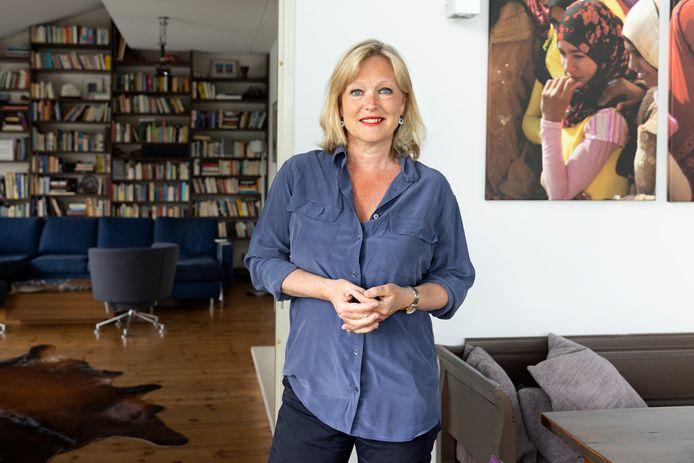 Chantal Zeegers, kandidaat-lijsttrekker voor D66 Rotterdam: 'Slopen om te slopen, daar moeten we vanaf.'