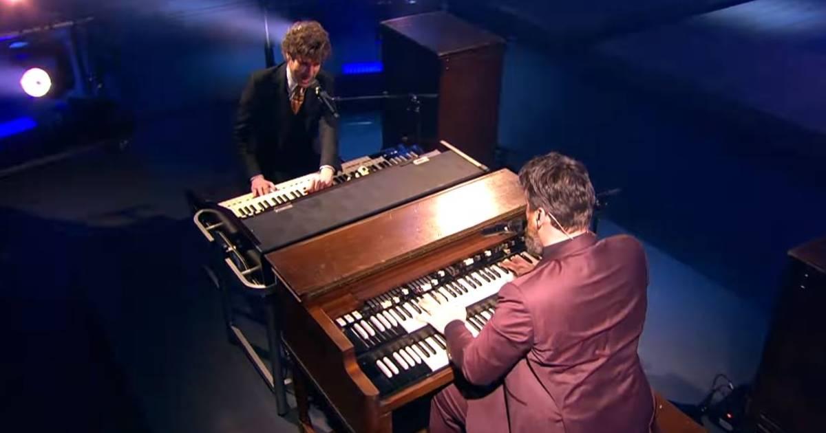 Thijs Boontjes en Sven Hammond Big Band maken indruk met Radar Love-uitvoering - AD.nl