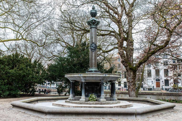De fontein in het Wertheimpark. Beeld Nosh Neneh