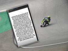 Rossi test positief op corona: 'Ik ben boos en verdrietig'