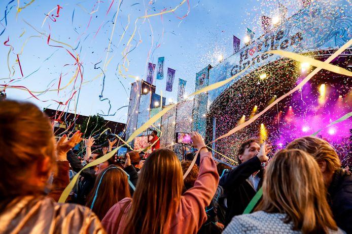 BREDA,  HARTJE GINNEKEN. Foto Pix4Profs/ Gino van Outheusden. AndrŽ Hazes jr maakte er een groot feest van tijdens hartje Ginneken in Breda
