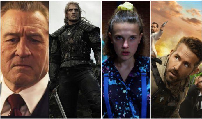 Deze 10 films en series werden het best bekeken op Netflix.
