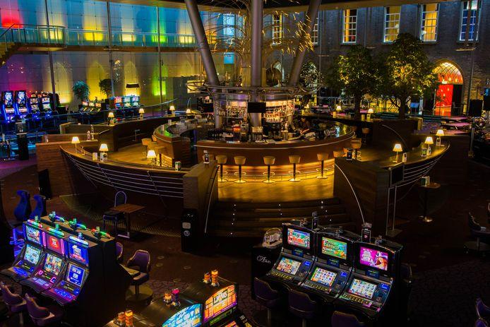 Nu al tijden leeg, maar zaterdag 24 april mogen er verspreid over de testdag 1.200 mensen Holland Casino Breda in.