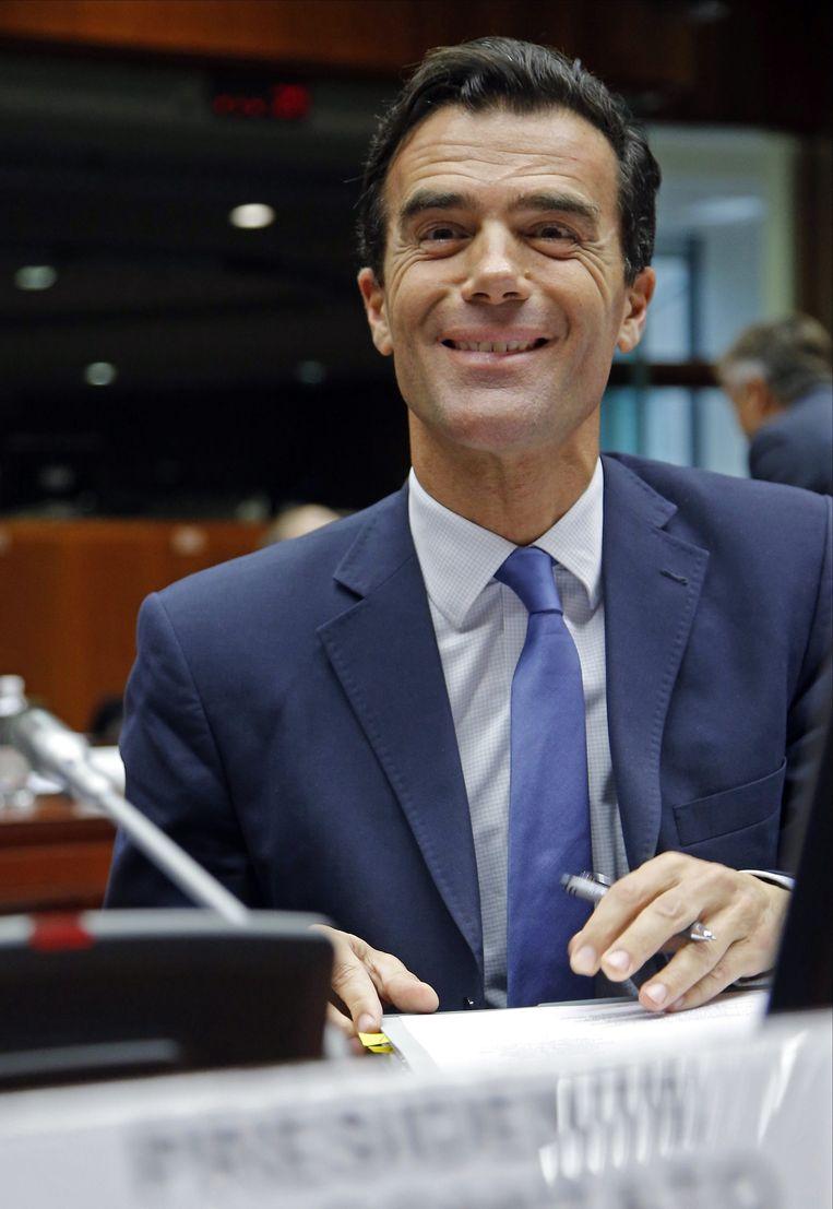De Italiaanse staatssecretaris van Europese Zaken Sandro Gozi.