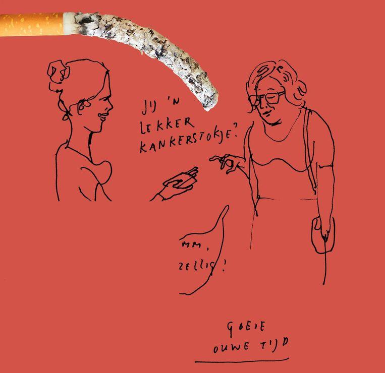 Stoppen met roken Beeld Paul Faassen