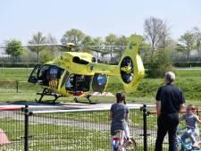 Twee coronapatiënten per helikopter van Terneuzen naar ander ziekenhuis gebracht