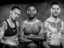 Topsporters over hun gespierde lichaam vol tatoeages: 'Dat masker op m'n borst geeft nu extra lading'