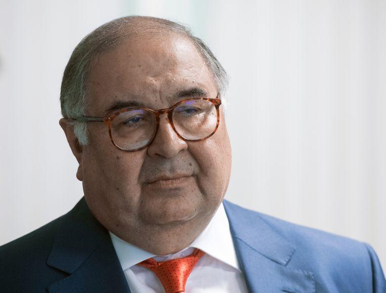 Alisjer Oesmanov. Beeld BELGAIMAGE