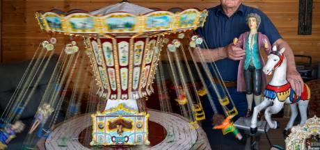 Bert (78) uit Gemonde bouwt zelf kermissen in miniformaat: 'Zo'n vijf jaar bezig met een attractie'