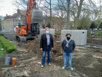 """De stad Ieper plaatst hemelwaterputten bij openbare werken: """"Een dubbele milieuwinst"""""""