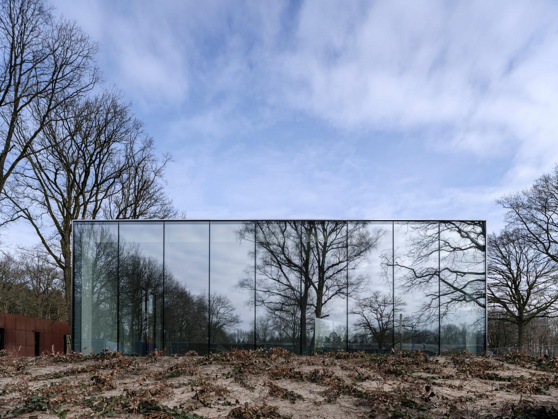 Het nieuwe museum Nationaal Monument Kamp Amersfoort. Beeld Ossip van Duivenbode