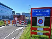 Container om Belgen tegen te houden blokkeert ook calamiteitenroute, Breda krabbelt terug na klachten ondernemers
