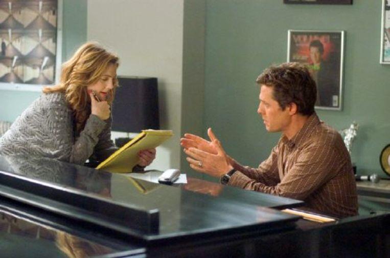 Drew Barrymore en Hugh Grant in Music and Lyrics. Beeld Brunopress