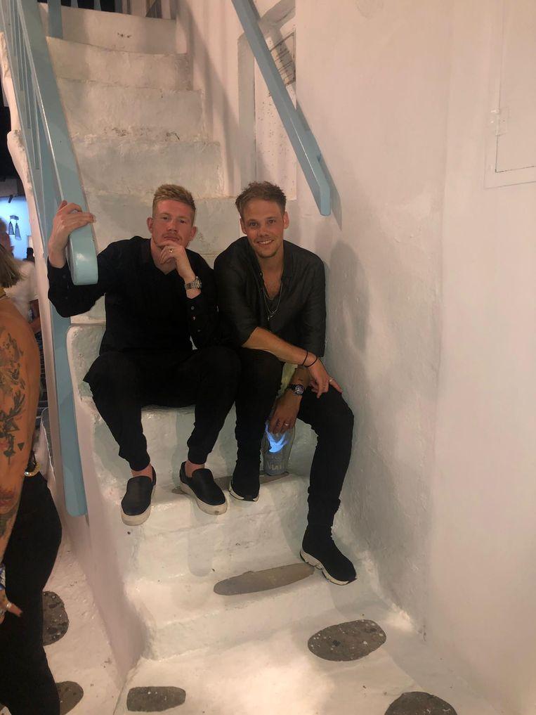 Kevin De Bruyne en zijn soulmate Kenneth Staelens Beeld RV