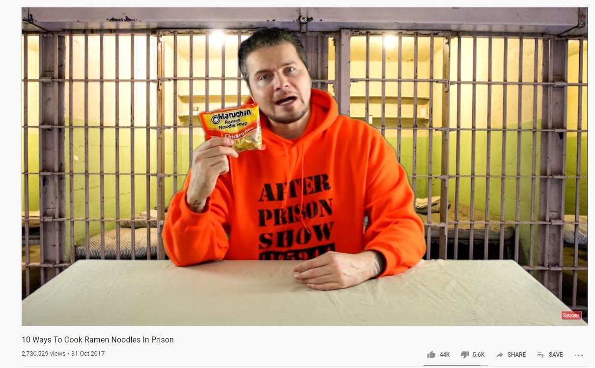 Joe Guerero op zijn YouTube-kanaal