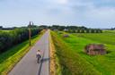Fietstocht langs de Hollandse Waterlinie, door Jessica vastgelegd met een drone.