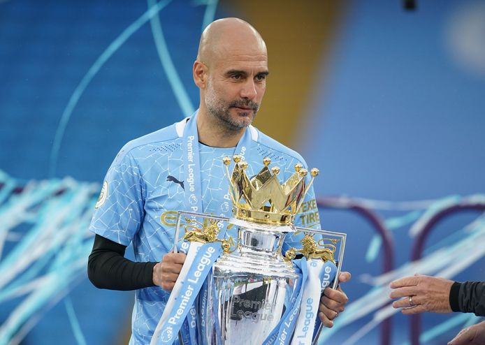 Guardiola loodste Manchester City naar de titel.