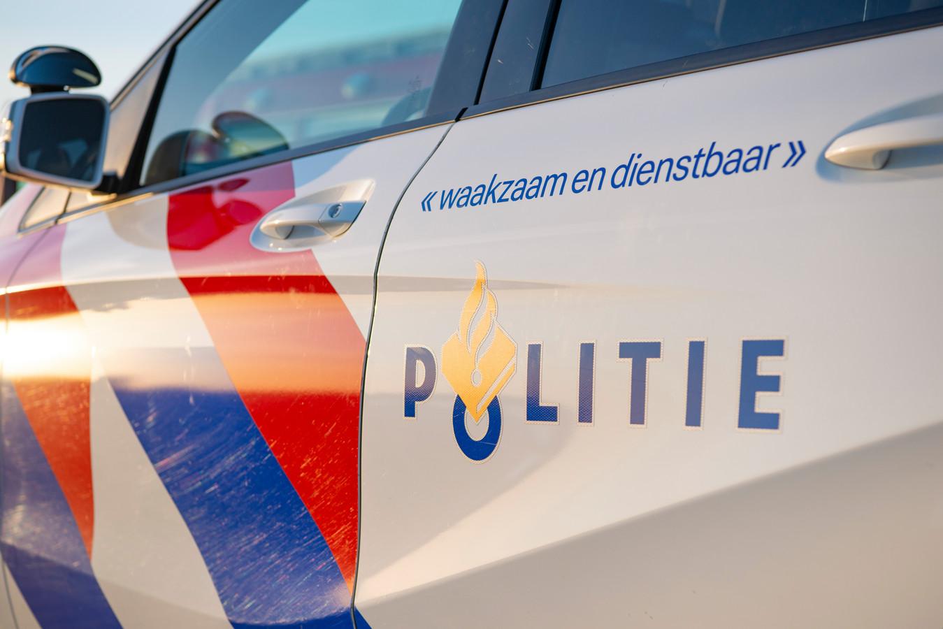 Foto ter illustratie. De politie ingezet in het buitengebied.