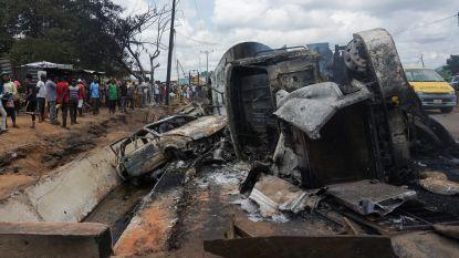 Minstens 28 slachtoffers na ontploffing gastanker in Nigeria