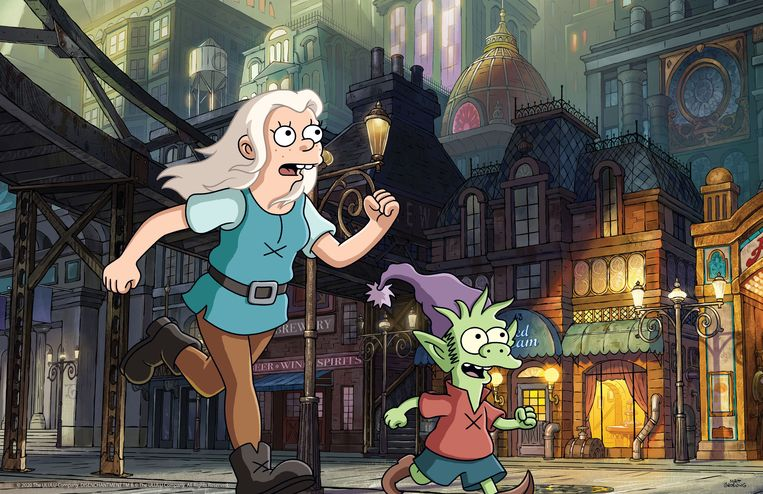 DISENCHANTMENT  Beeld Courtesy of Netflix