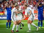 Duitsland begint te draaien met krappe zege op Italië