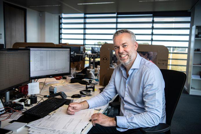 Bauke van Eldik werkte twintig jaar in de financiële sector. Toch maakte hij de overstap naar de logistiek.