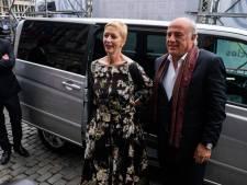 Fabienne Arras, echtgenote van Herbert Flack, krijgt afscheid in 'haar' Bourlaschouwburg