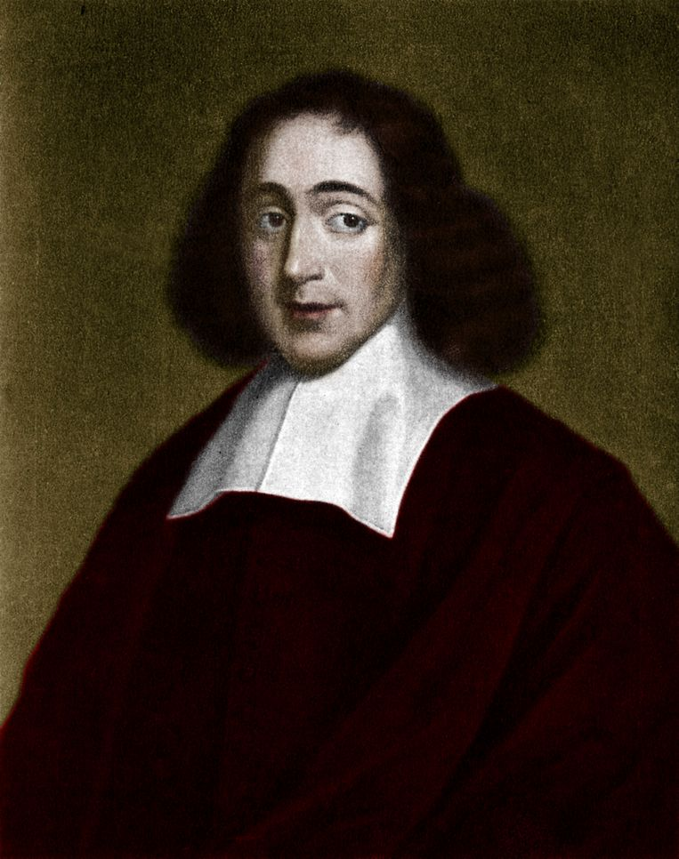 Portret van Baruch Spinoza (1632-1677). Beeld Getty Images