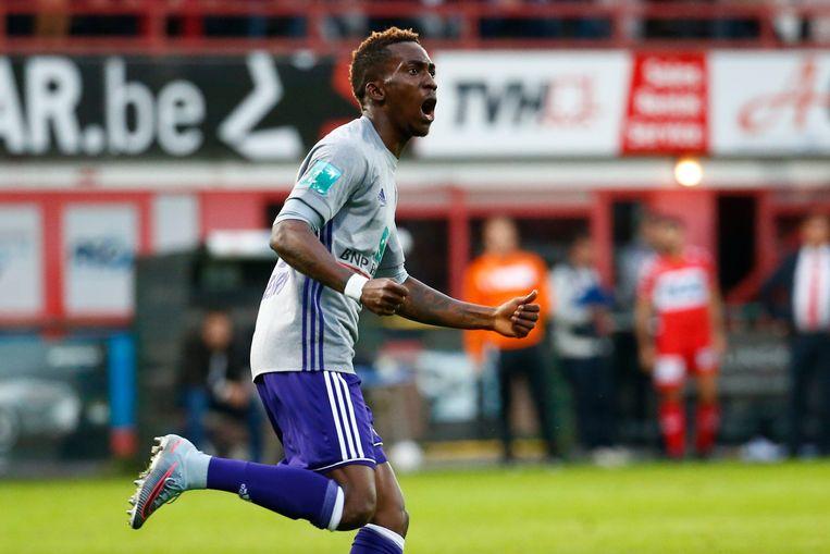 Een doelpunt van deze Henry Onyekuru kon vermijden dat Anderlecht afgelopen weekend met lege handen naar huis moest. Beeld Photo News