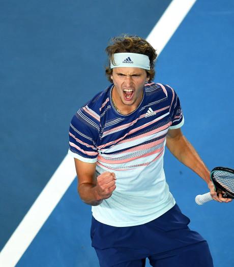 Zverev geeft al z'n prijzengeld weg bij winst Australian Open