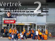 Column Thijs Zonneveld | Bubbel? Twee uur later zat ik pal naast ze in het vliegtuig naar Tokio