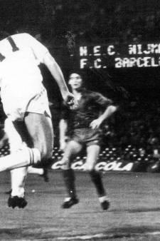 Van Cuijk uit Uden moest in 1983 Barça-sterren van scoren houden: 'Het was een enorme happening'