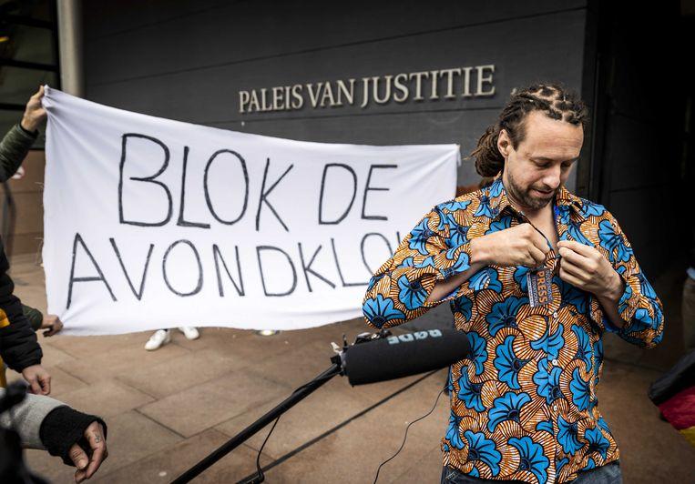 Uit Nederland komt onder anderen Willem Engel, een dansleraar met een mening, als spreker afgezakt.  Beeld ANP