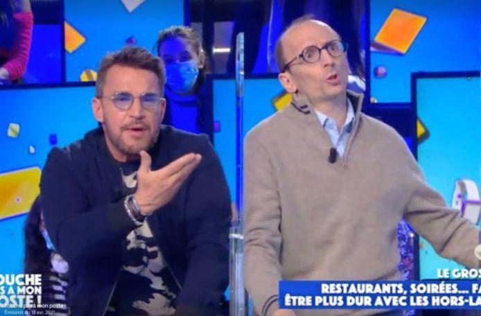 Benjamin Castaldi et l'avocat Fabrice Di Vizio