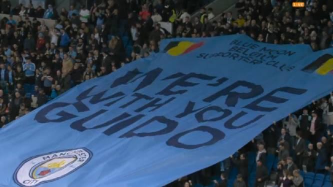 Sans KDB au coup d'envoi, City corrige Brighton, les fans adressent un message de soutien au supporter belge agressé