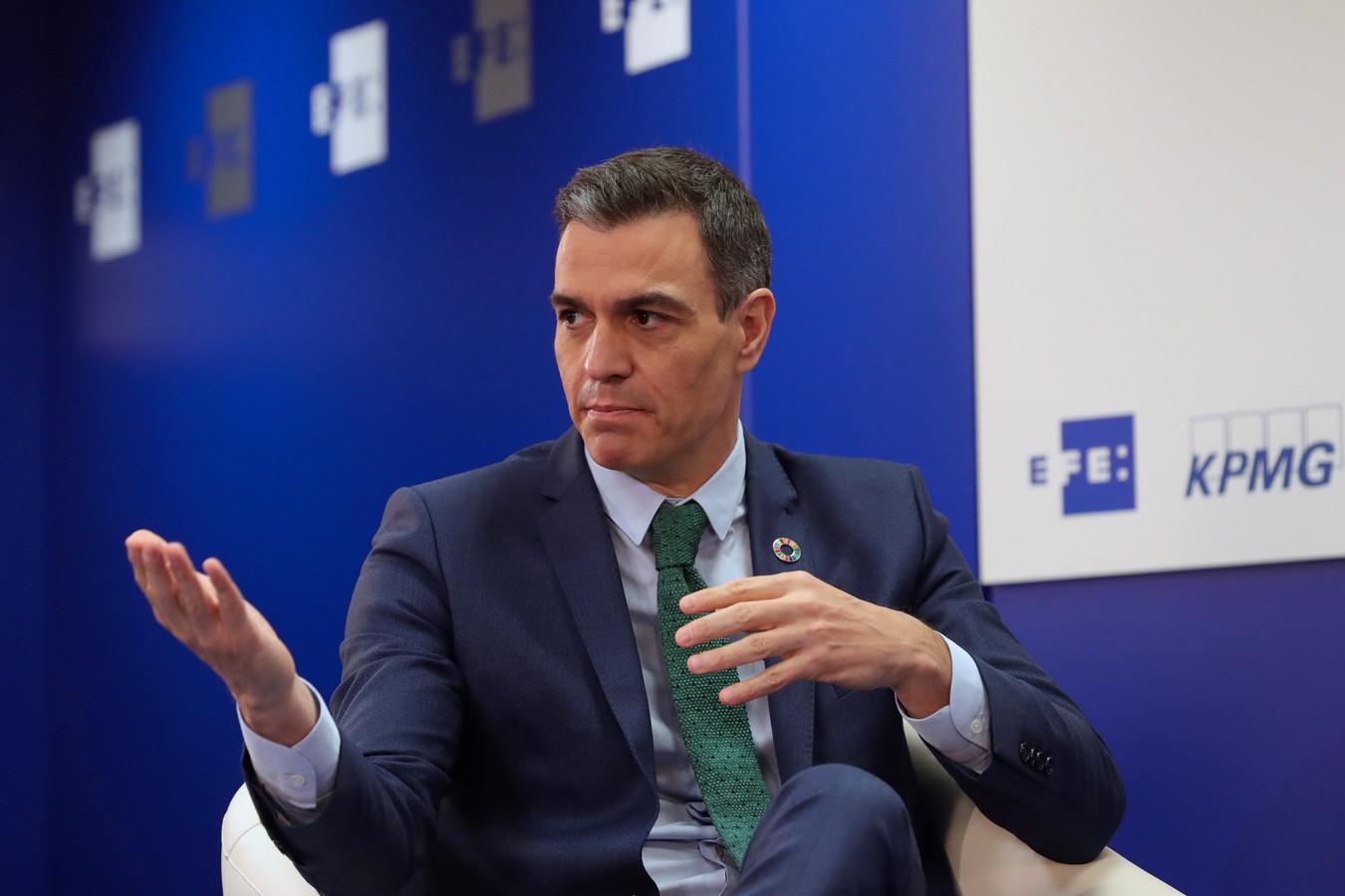 Pedro Sanchez, Premier ministre espagnol.