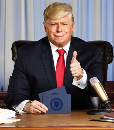 Un talk show animé par un faux Trump fait son apparition