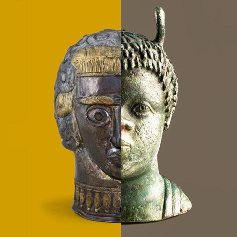 Het Gallo-Romeins Museum van Tongeren biedt tijdelijk de audiogidsen van zowel de permanente tentoonstelling als de expositie 'Dacia Felix' aan. Beeld RV