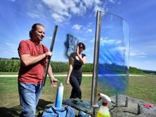 Nieuw kunstwerk voor Willem Wilmink op Kuiperberg in Ootmarsum