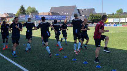 OEFENMATCHEN. Jonkies tonen zich bij Club - AA Gent haalt opnieuw uit - Essevee weer onderuit - Standard verslaat UR Namen
