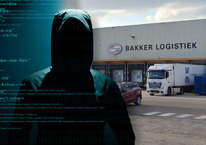 Bakker Logistiek werd gehackt via een lek in het mailprogramma Microsoft Exchange.