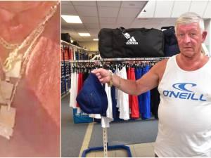 Na BK Tijdrijden: boefjes beroven schoenenhandelaar Frank (61) van vier dure halskettingen