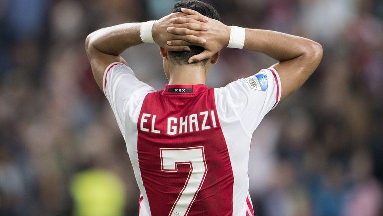 De voetballer was onderweg naar de training van Ajax. Beeld ANP