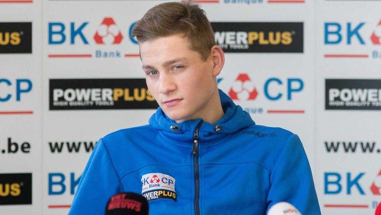 """Mathieu van der Poel: """"De koers was mentaal lastig, omdat ik nooit echt een grote voorsprong bijeen kon fietsen."""""""