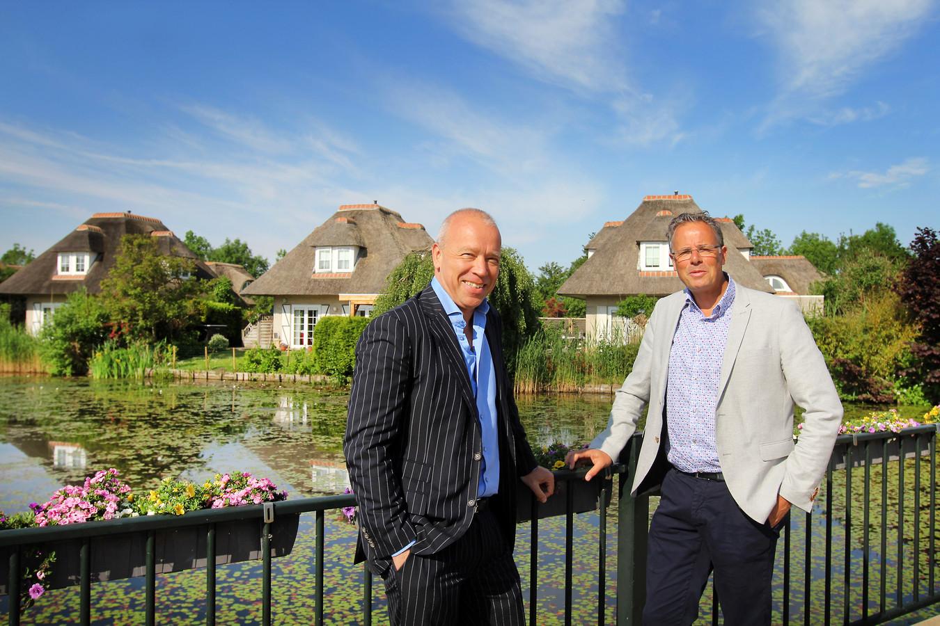 Città-directeur Johan Janzen en Alex Sievers van Beyond Now.