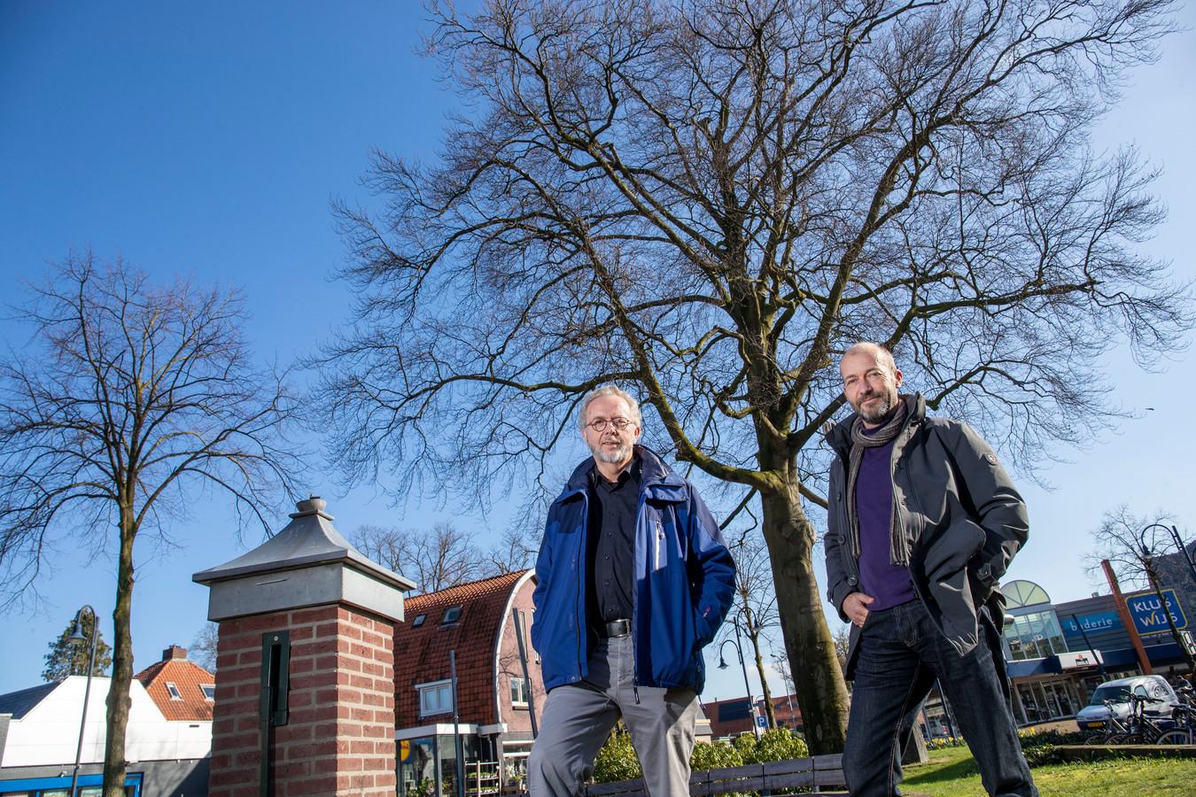Reinier van den Berg (rechts) en Bart Verkruijssen van TreesPlease.