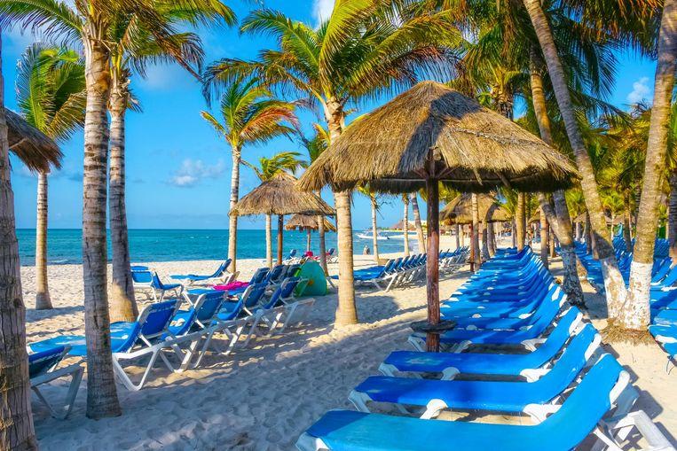 Een resort in Playa del Carmen, Mexico. Beeld thinkstock