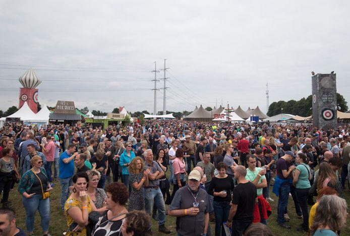 De outdoor editie van Huntenpop in 2019