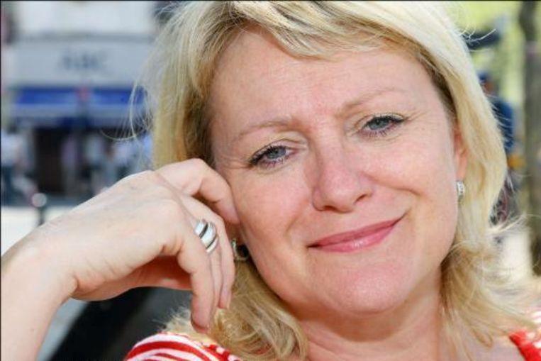 Leen Demaré: bekendste 4FM-presentatrice. Beeld UNKNOWN